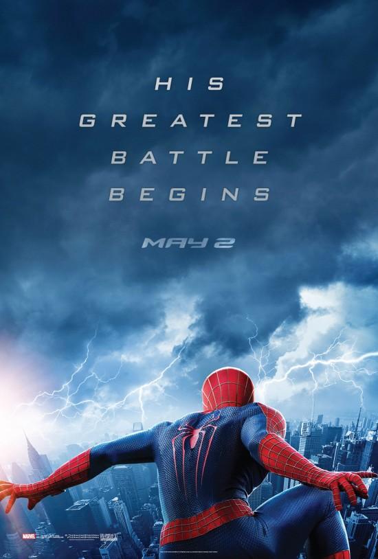 Amazing Spider-Man 2 Teaser poster