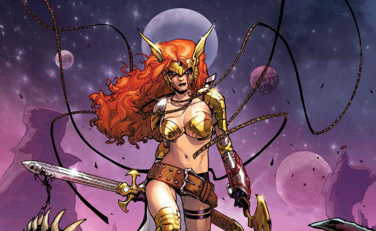 Angela Guardians of the Galaxy