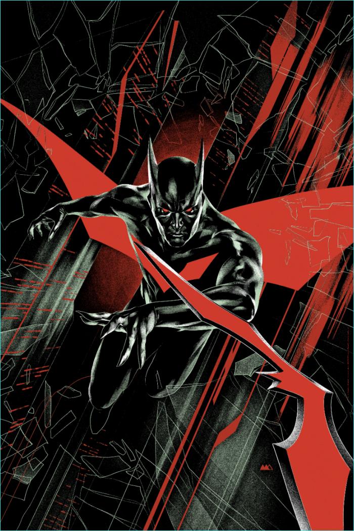 "Martin Ansin ""Batman Beyond"" Screen print"