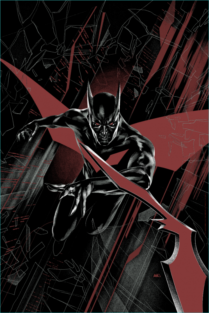 "Martin Ansin ""Batman Beyond"" Variant Screen print"