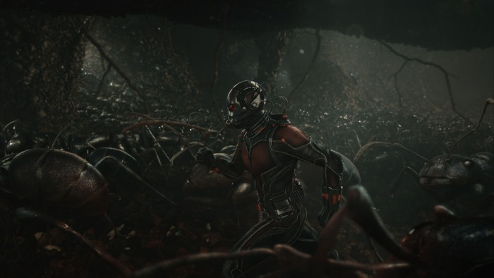 Ant-Man Ants Marching