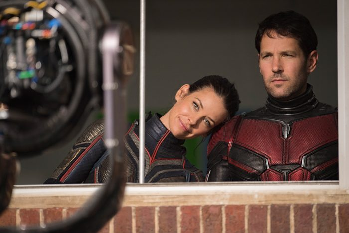 Ant-Man and the Wasp - Evangeline Lilly and Paul Rudd