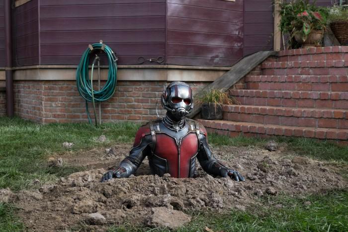 Ant-Man dirt