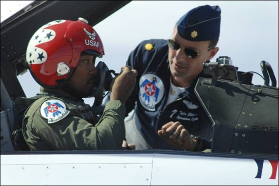 Anthony Mackie air force