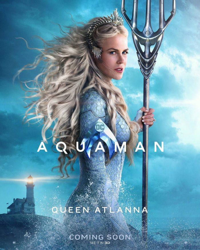 Aquaman Poster Atlanna