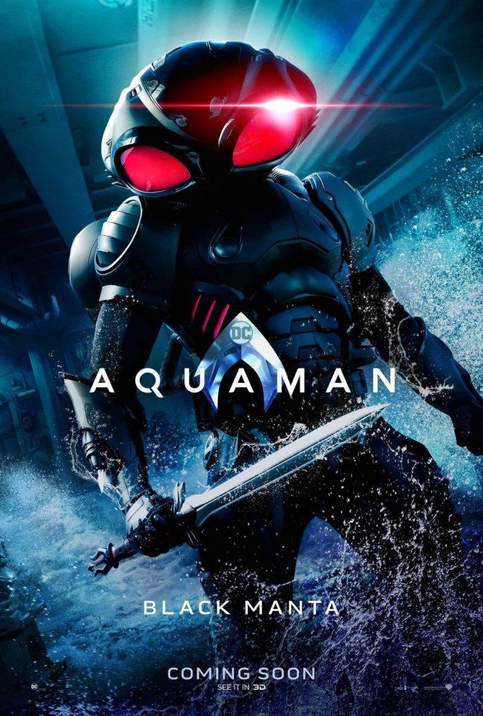 Aquaman Poster Black Manta