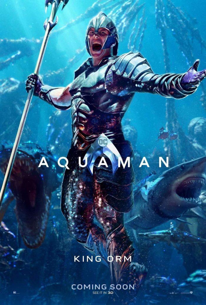 Aquaman Poster King Orm