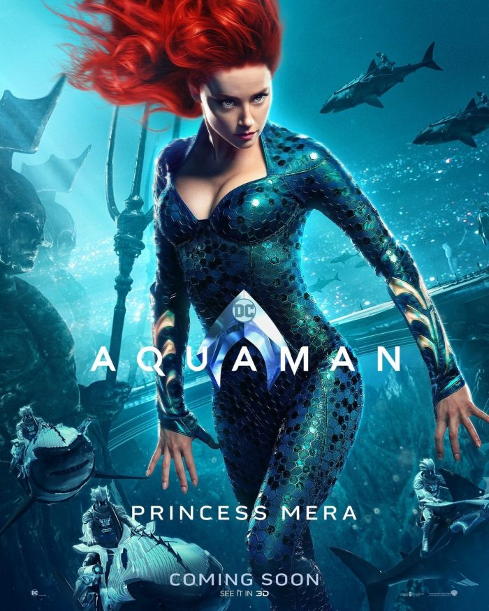 Aquaman Poster Mera