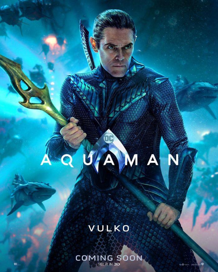 Aquaman Poster Vulko