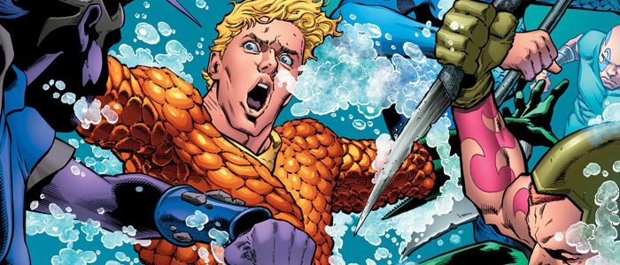 Aquaman comic cover