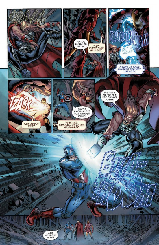 Avengers 1 comic
