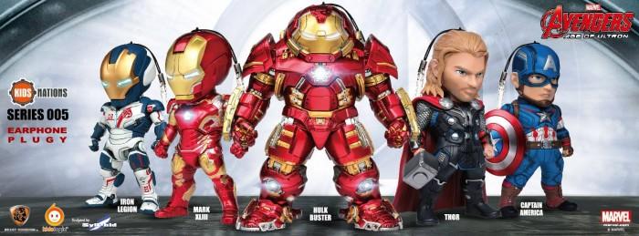 Avengers Age of Ultron Earphone plugs