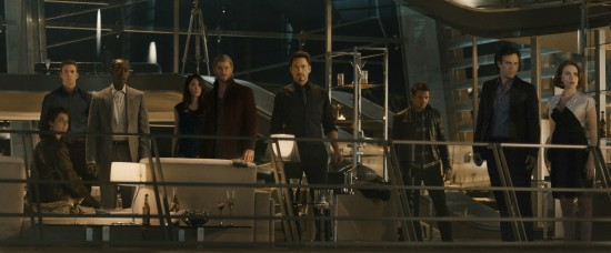 Avengers Age of Ultron Group Tower