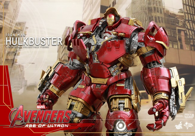 Avengers Age of Ultron Hulkbuster Hot Toys
