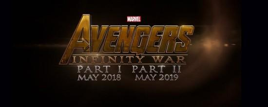Avengers Infinity War Logo Officia