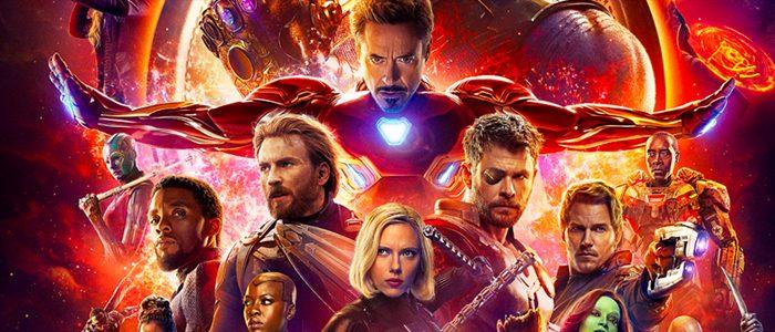 Avengers Infinity War poster slice