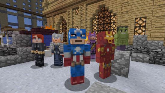 Avengers Minecraft