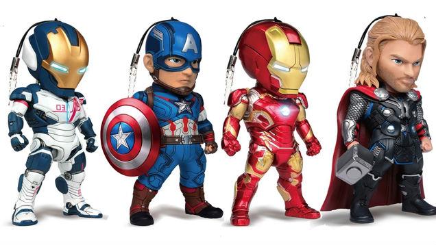 Avengers Phone Charms