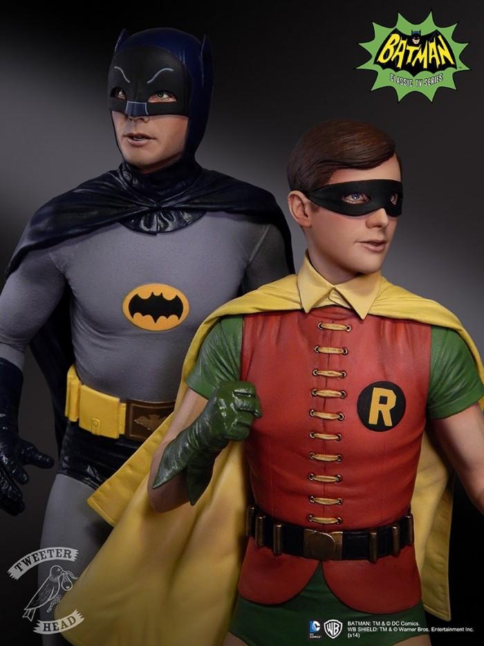 Batman 66 Maquettes