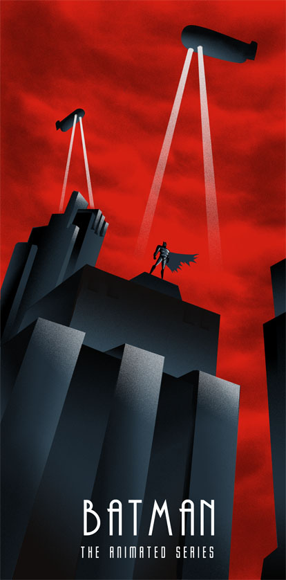 Batman Animated Series By Rodolfo Reyes