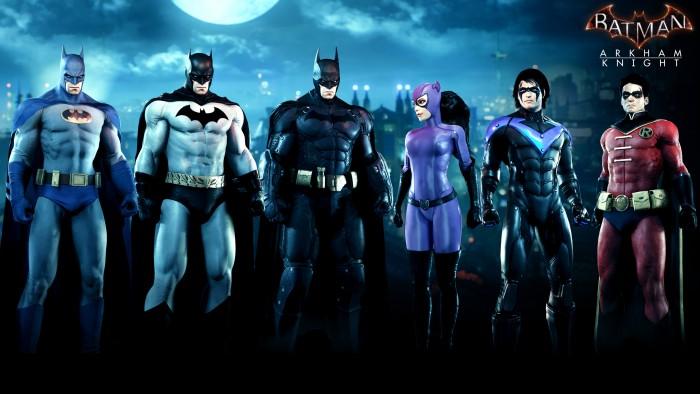 Batman Arkham Knight family skin