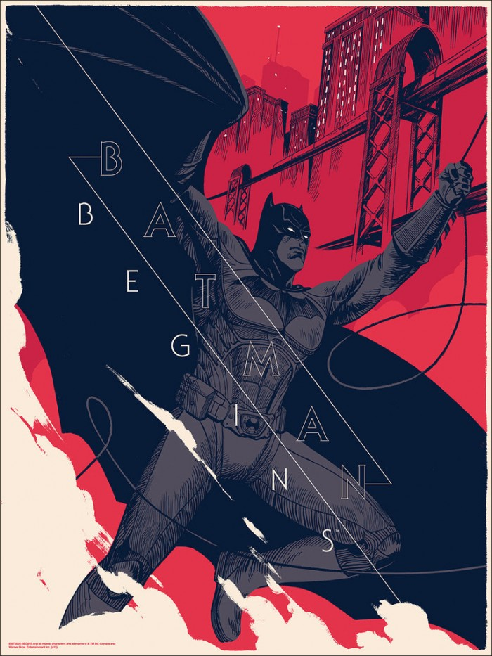 Batman Begins by Patrick Leger