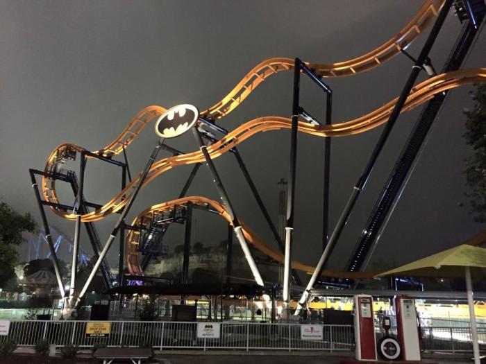 Batman Ride Six Flags Texas