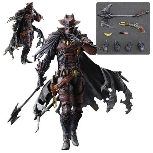 Cool Stuff Batman As A Wild West Cowboy By Square Enix