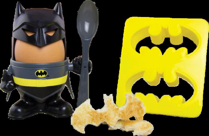 Batman egg and toast