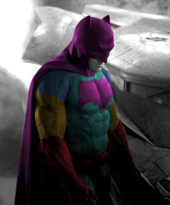 Batsuit color