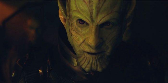 Ben Mendelsohn as a skrull in captain marvel