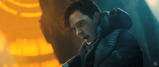 Benedict Cumberbatch as Khan in Star Trek Into Darkness