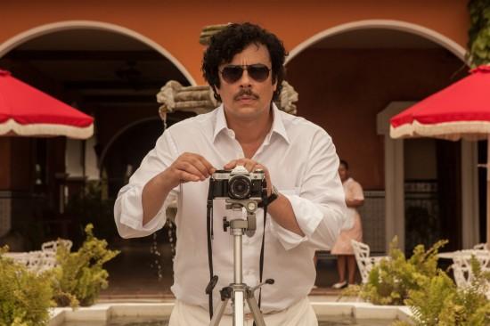 Benicio Del Toro as Pablo Escobar in Paradise Lost
