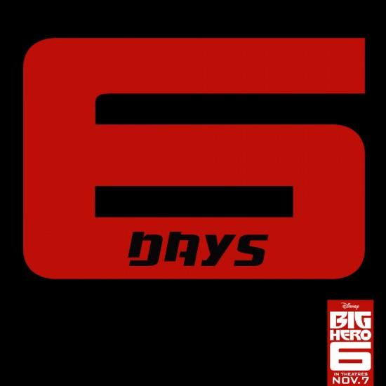 Big Hero 6 countdown