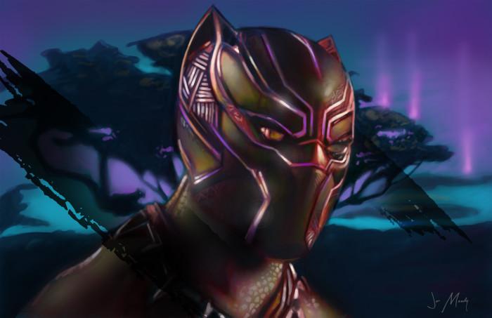 Black Panther Jon Moody