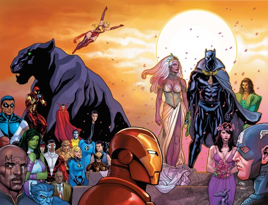 Black Panther wedding