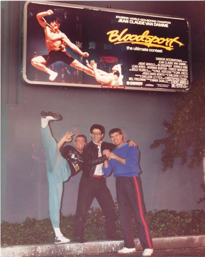 Bloodsport Billboard on Wilshire