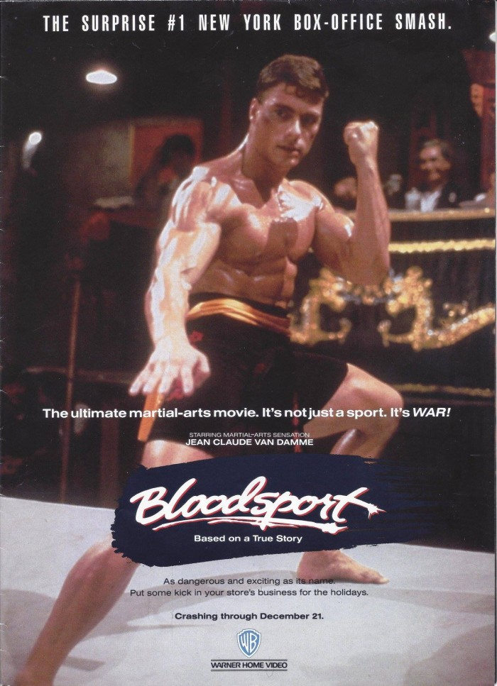 Bloodsport WB Flyer
