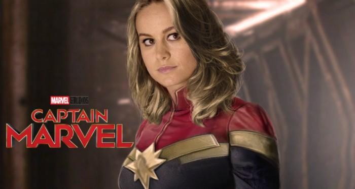 Brie Larson captain marvel fan