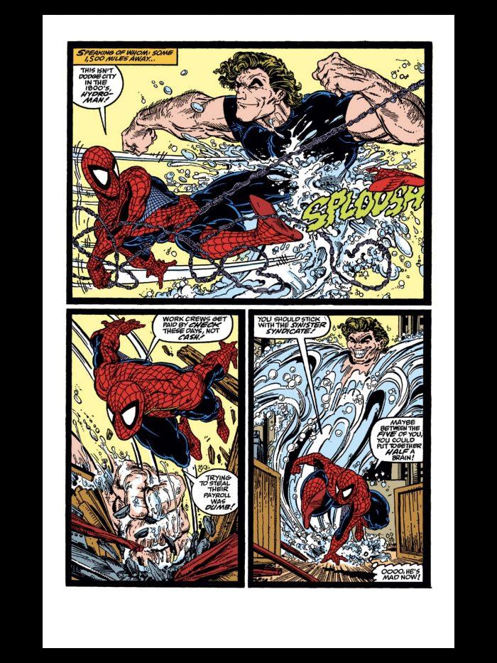 Amazing Spider-Man - Hydro-Man Page
