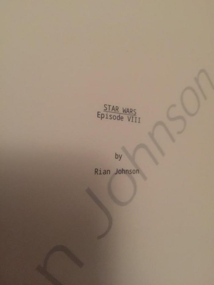 Star Wars: Episode VIII director Rian Johnson