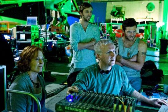 Cameron Avatar Filming