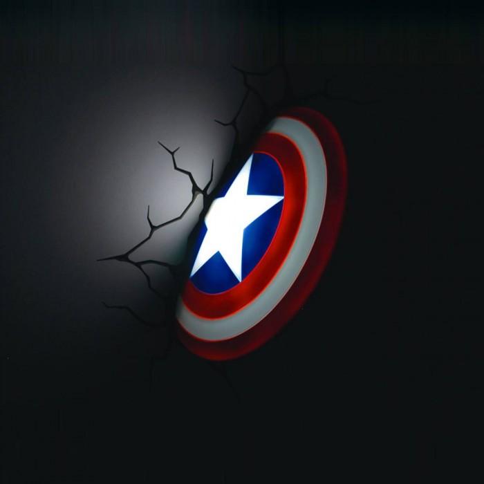 Cap Shield Night light