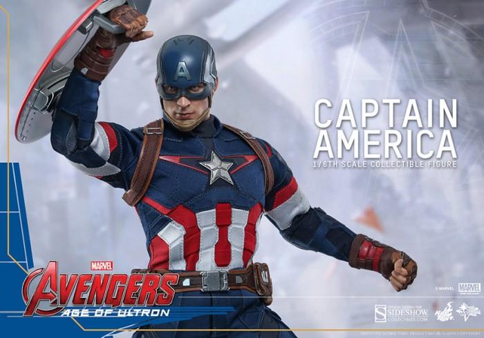 Captain America AOU Hot Toys
