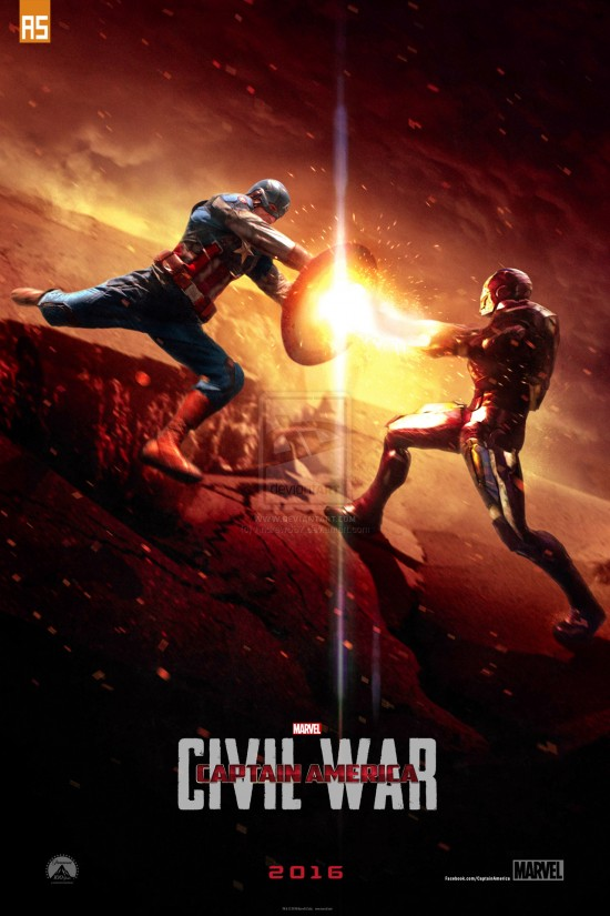 Captain America Civil War Fan Art