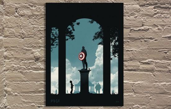 Captain America Monument
