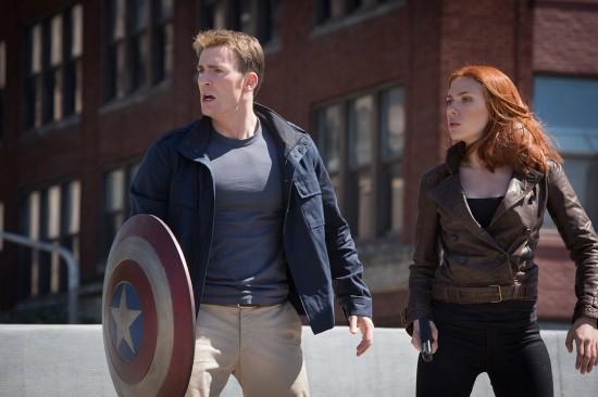 Captain America Winter Soldier street