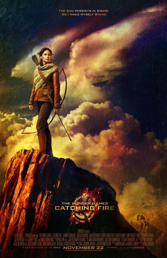 Catching Fire Katniss Poster
