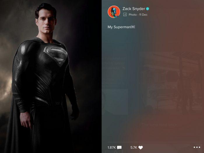 Cavill Superman Black Suit