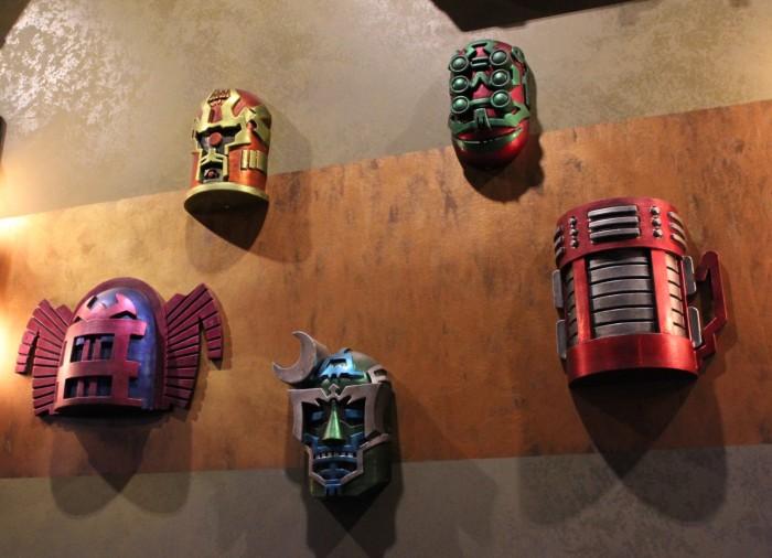 Celestrials Masks in mission breakout